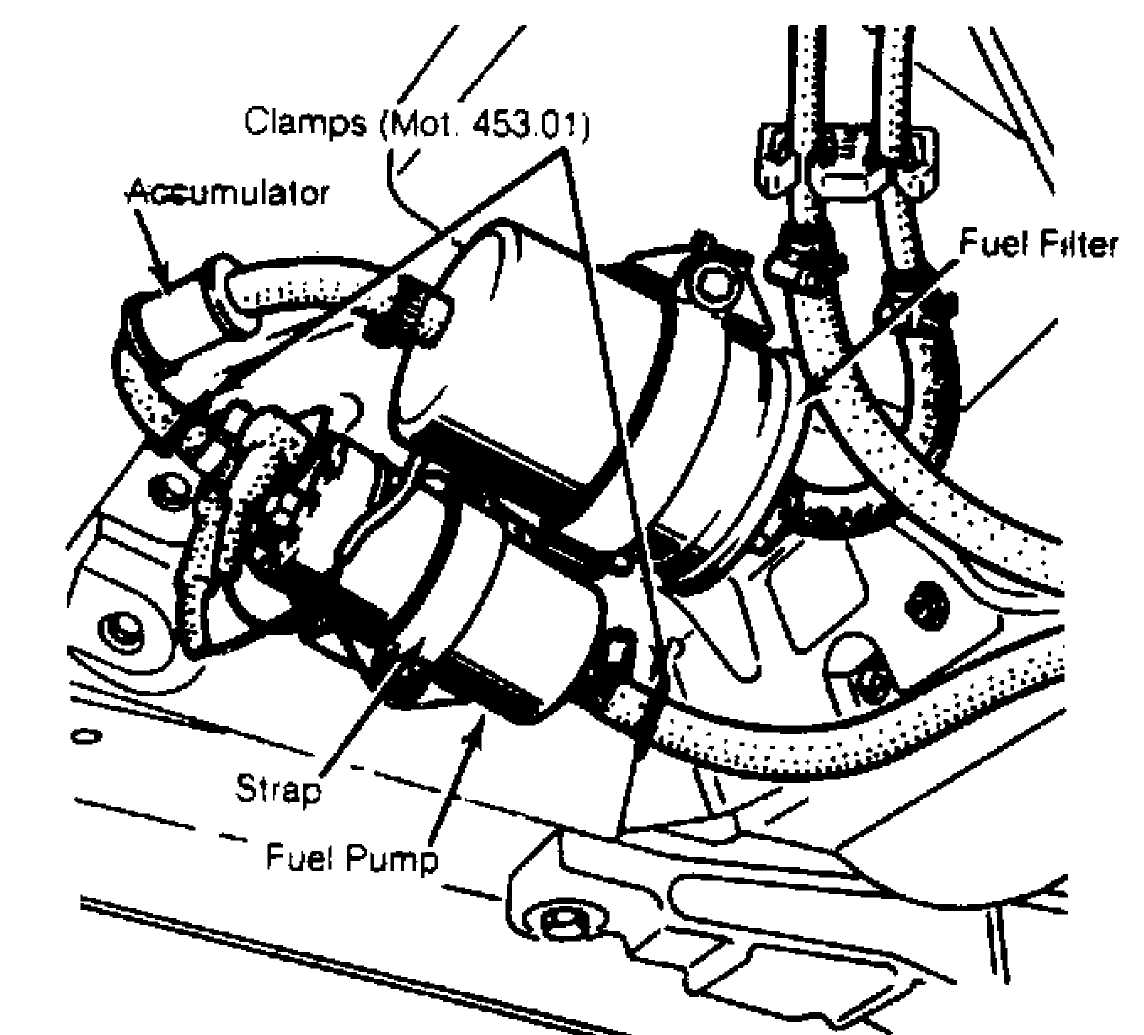jeep fuel pump diagram