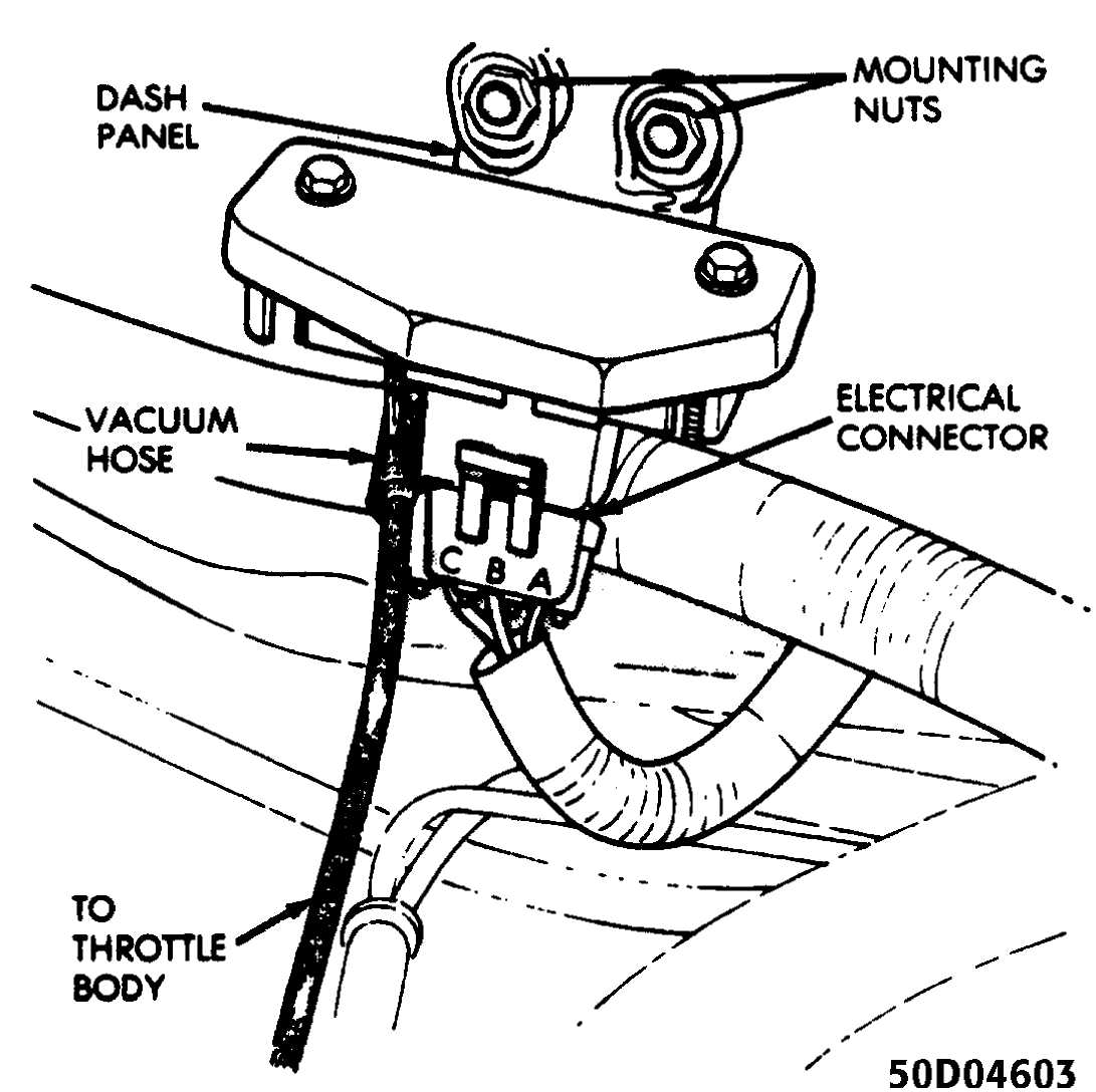 The Map Sensor Is Mounted Under Hood On Firewall And Connected To Throttle Body With A Vacuum Hose See Fig 4: 91 Jeep Cherokee Distributor Wiring Diagram At Chusao.net