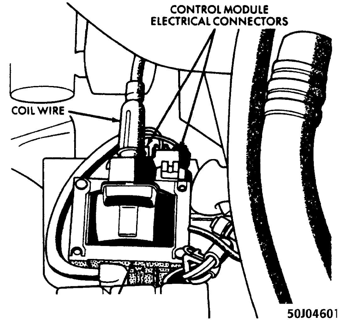 ignition system 4 0l w solid state ignition ssi 1984 1991 Mopar Ballast Resistor Wiring Diagram ignition control module ignition cotl assembly