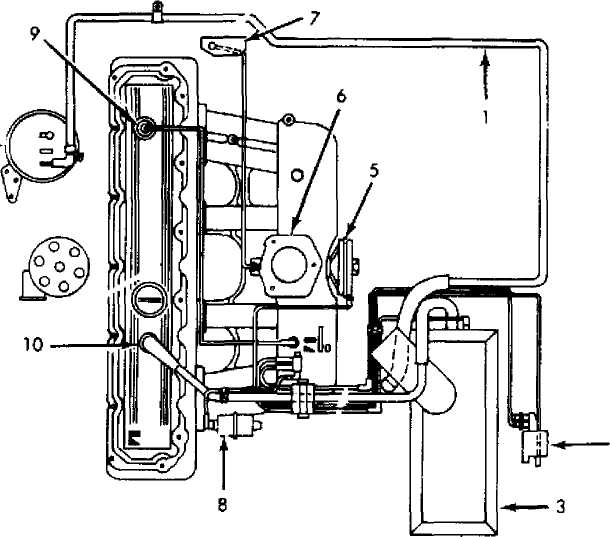 1990 Engine Diagram
