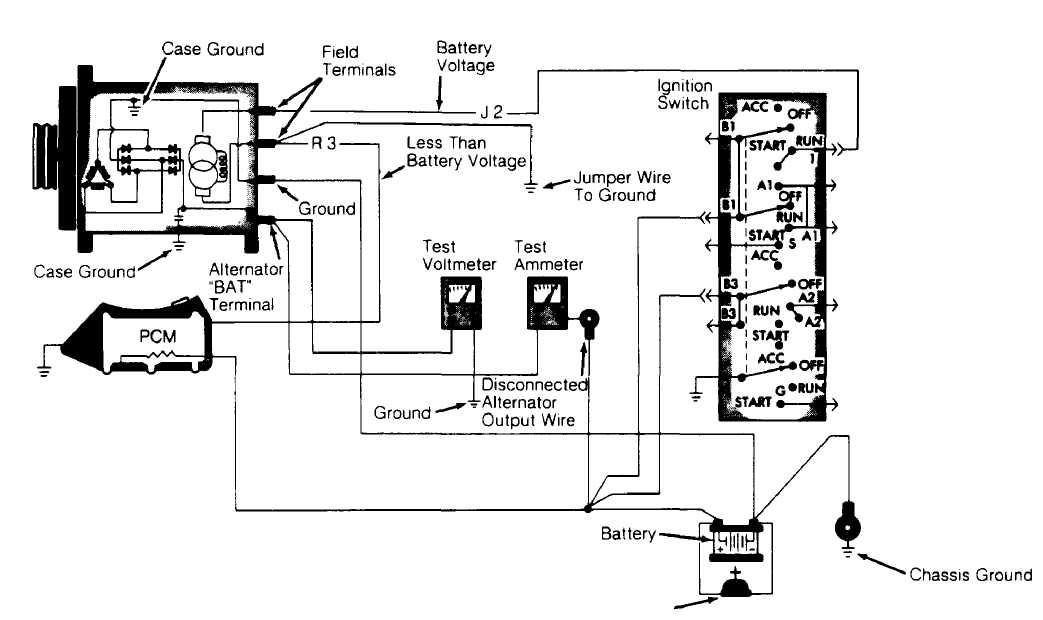 1997 ford ranger radio diagram
