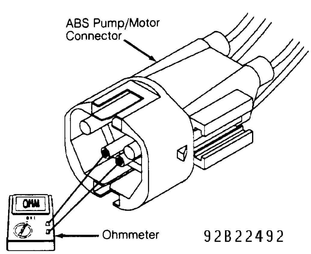jeep abs pump wiring