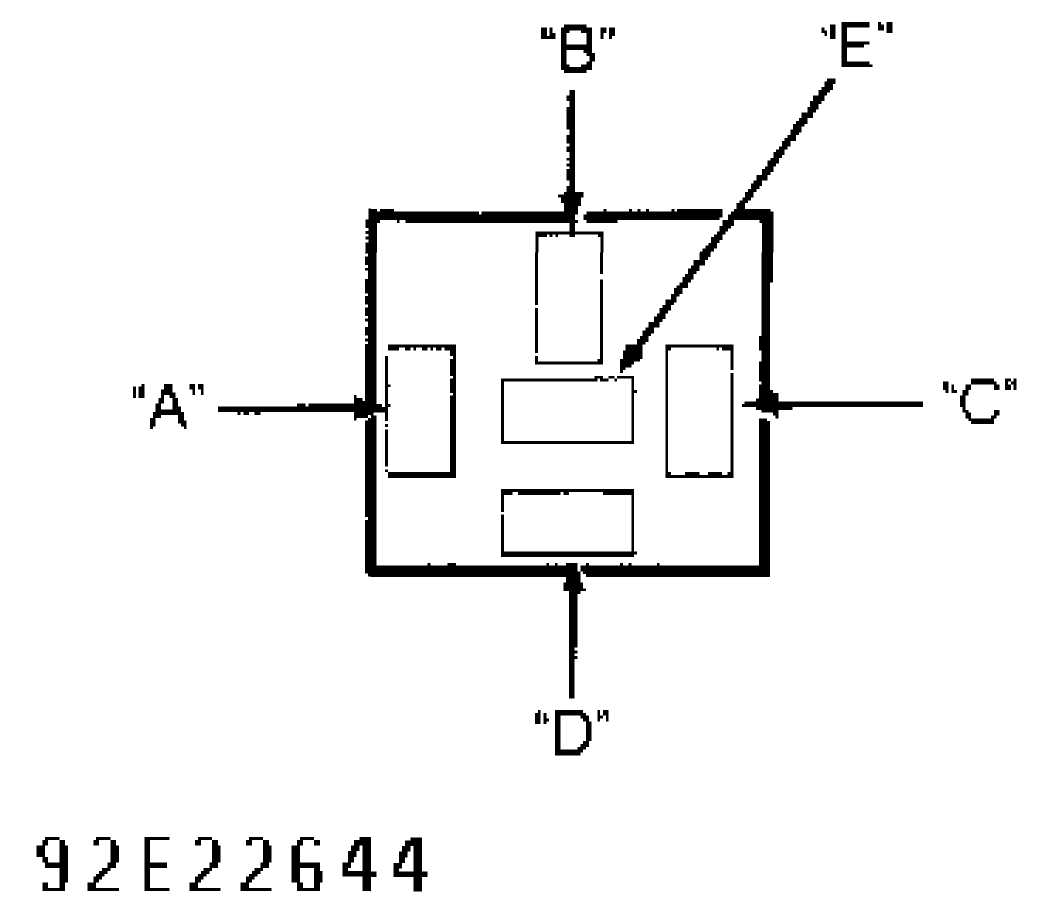 Anti Lock Brake System 1993 Jeep Cherokee Xj Figure 16 Hydraulic Schematic Diagram Fig 10 Identifying Abs Main Relay Connector Terminals Courtesy Of Chrysler Corp