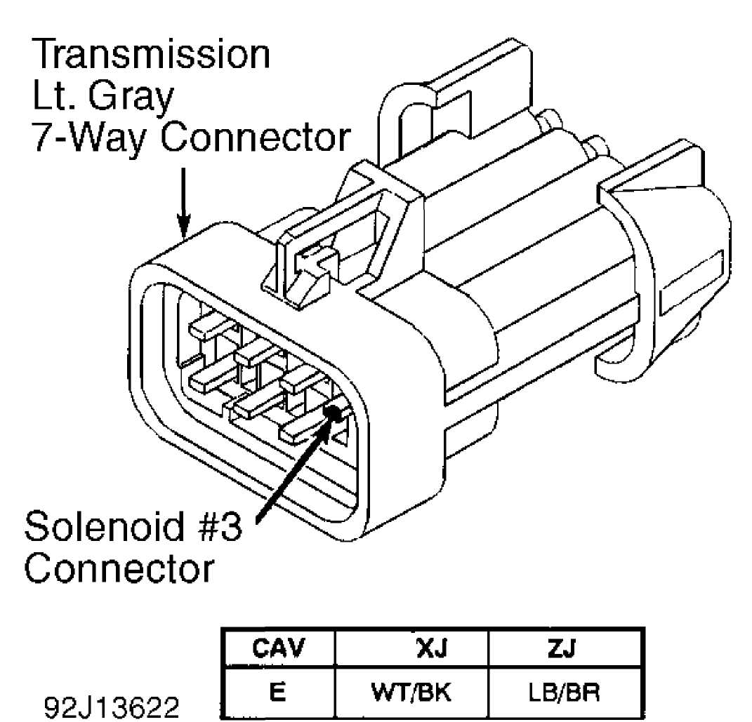 aw4 tcm wiring diagram