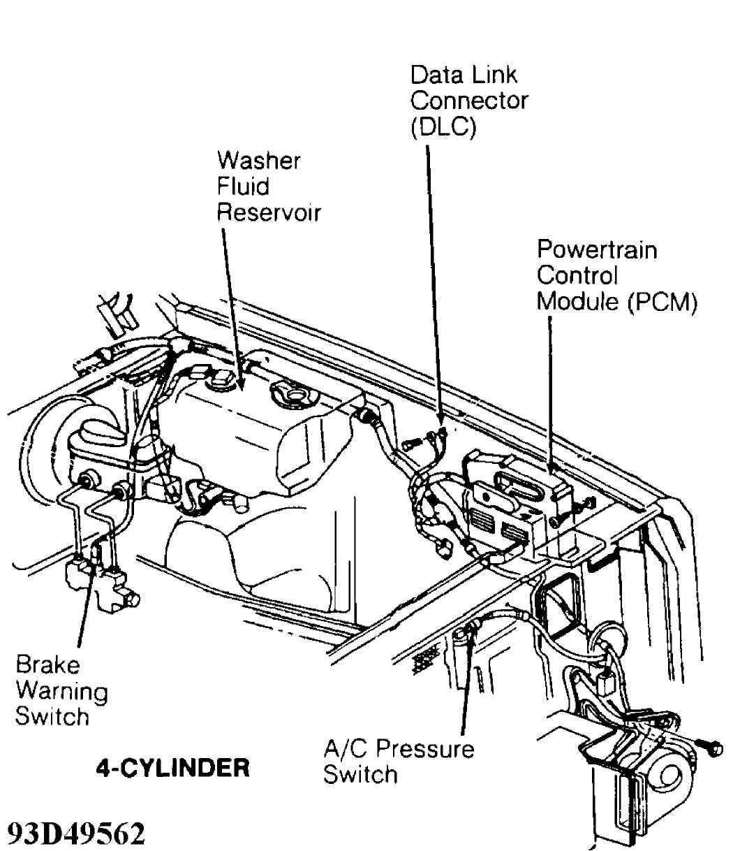 Electrical Component Locator 1993 Jeep Cherokee Xj 4 Cylinder Engine Diagram