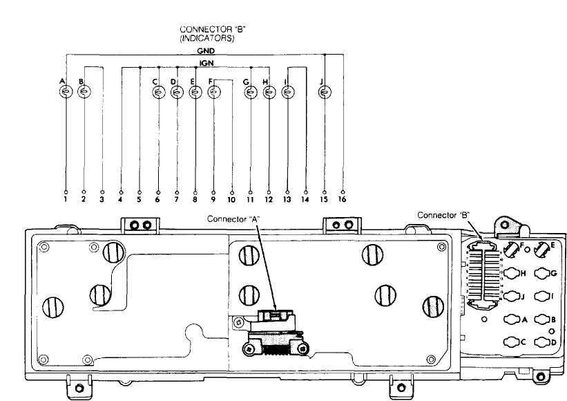 instrument panel    1993    jeep cherokee  xj     jeep cherokee    online manual jeep
