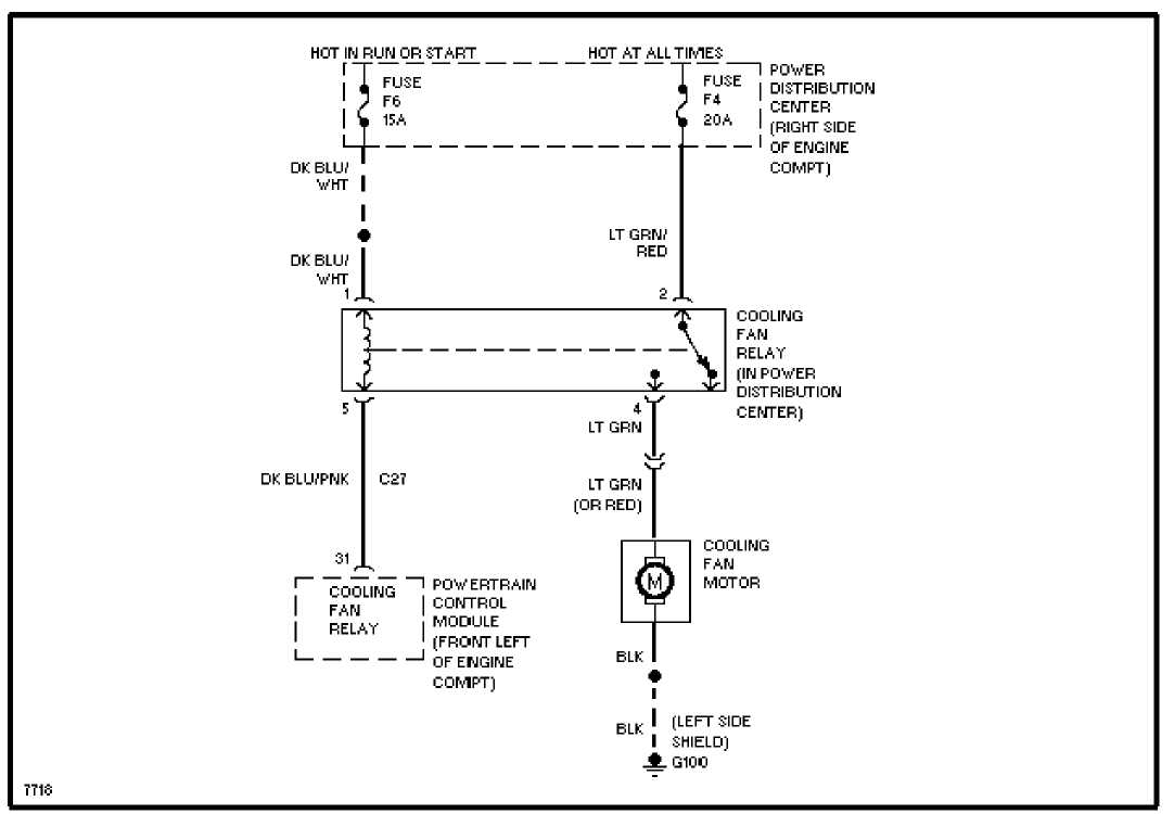 Electric Radiator Fan Wiring Diagram Jeep Comp | Wiring ... on
