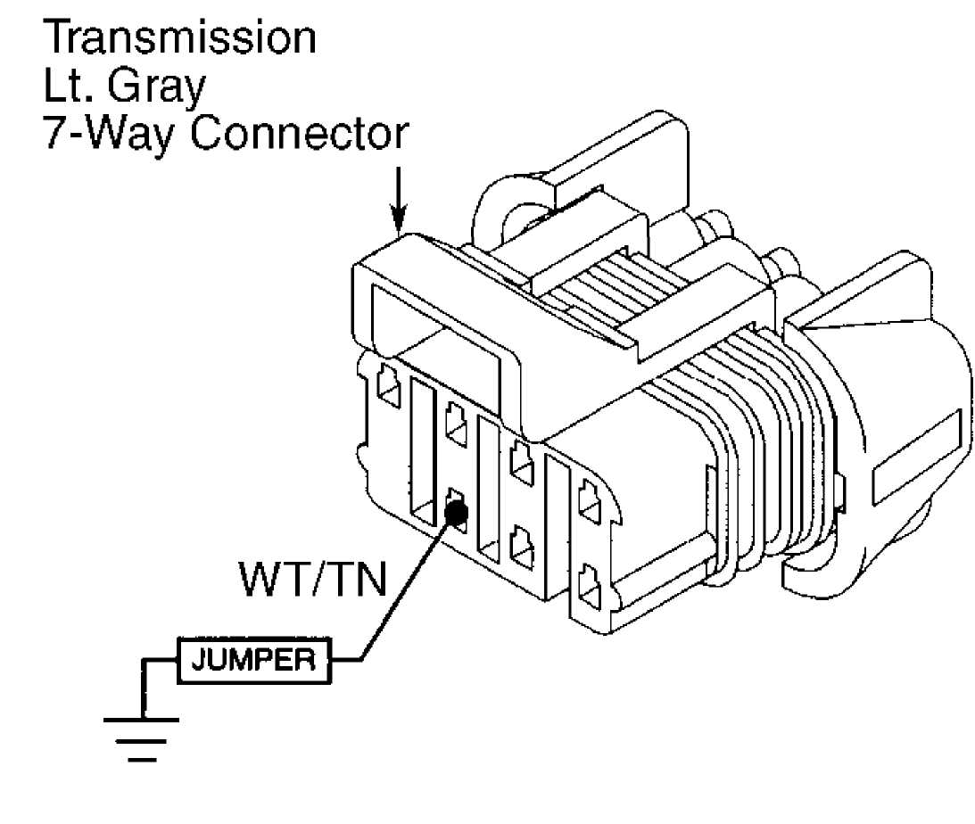 Auto Trans Diagnosis Aw4 1993 Jeep Cherokee Xj 91 Speed Sensor Wiring Diagram 92h14255