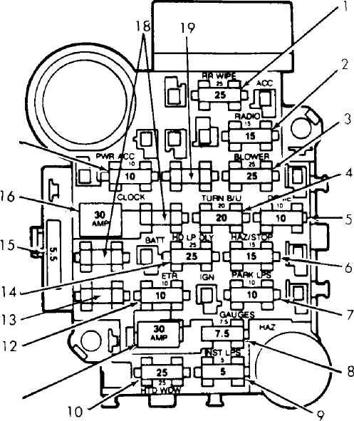 maintenance information 1993 jeep cherokee xj 1989 Jeep Cherokee XJ Stereo Wiring