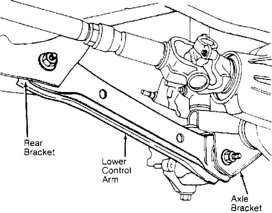 wheel alignment specifications  u0026 procedures    1993