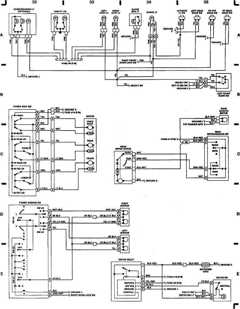 Jeep Wrangler Wiring Diagram Likewise 93 Jeep Wrangler Wiring Diagram